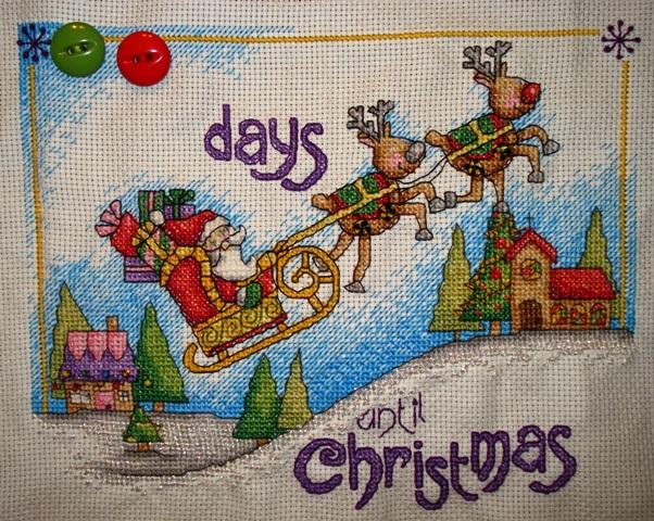 Christmas Countdown by Durene Jones