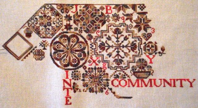 I love ByGone Stitches' Quaker Virtues